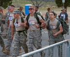 The 27th Annual Bataan Memorial Death March. White Sands Missle Test Range, New Mexico